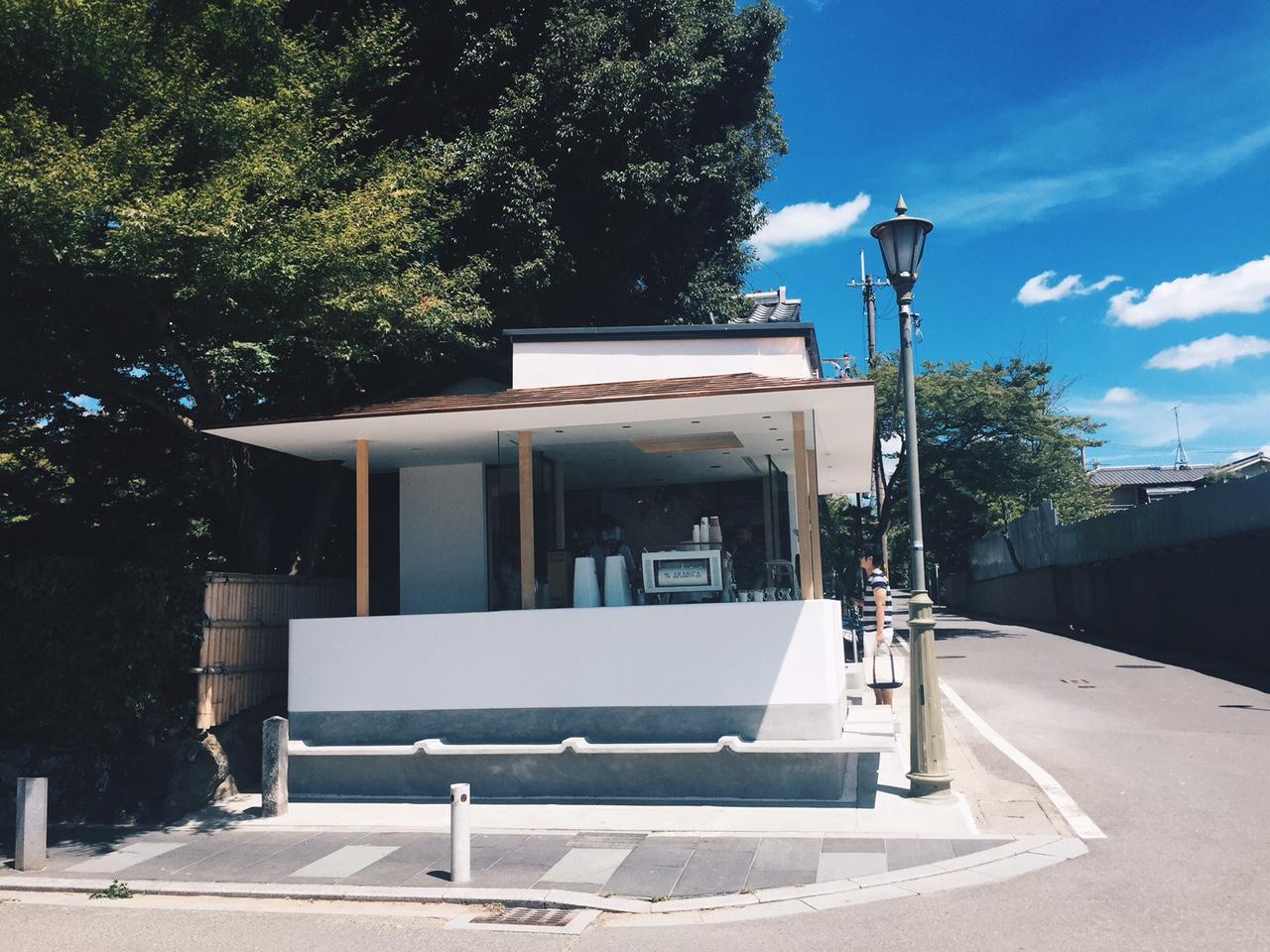 コーヒー、ロケーション、空間 全てが最高なアラビカ 京都嵐山 画像