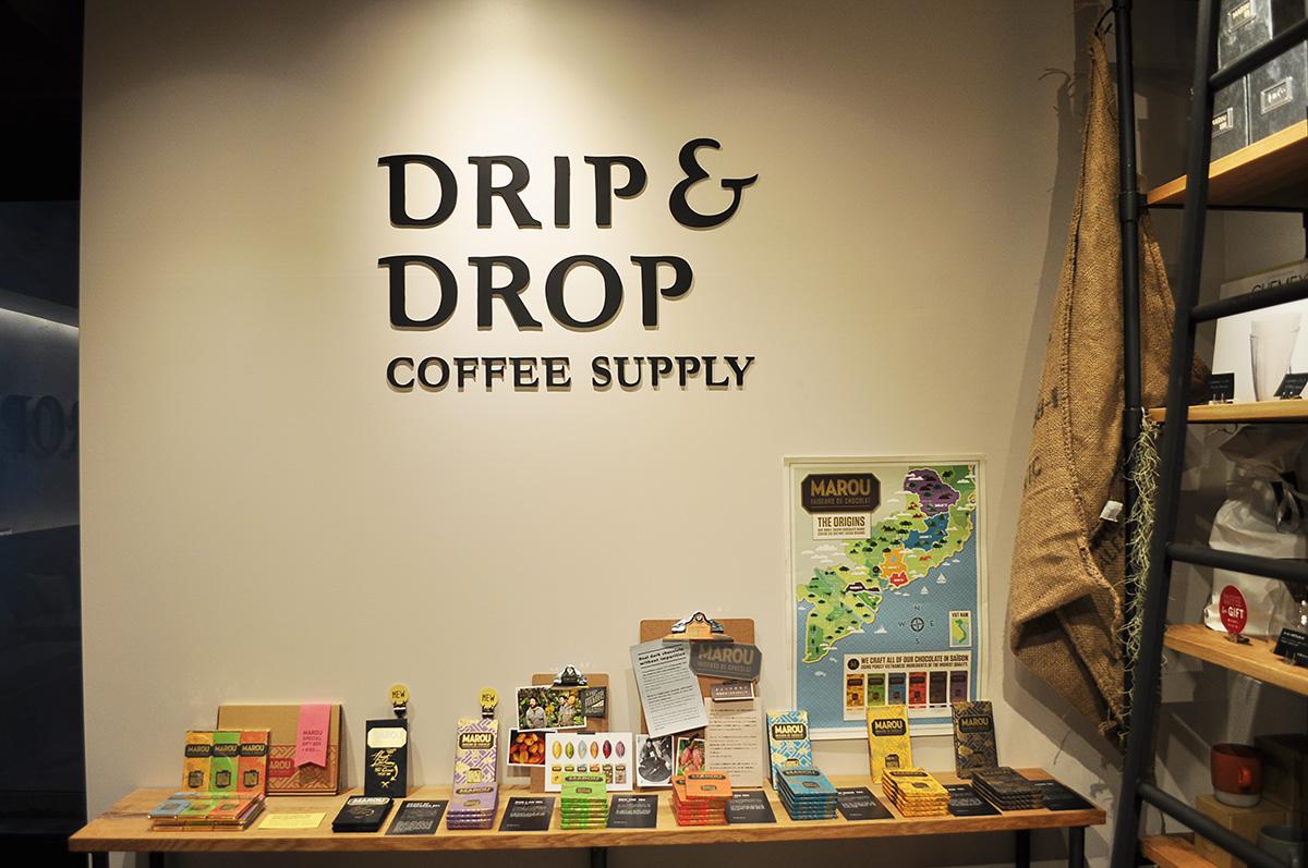 Drip & Drop Coffee Supply(ドリップアンドドロップコーヒーサプライ) 京都・三条