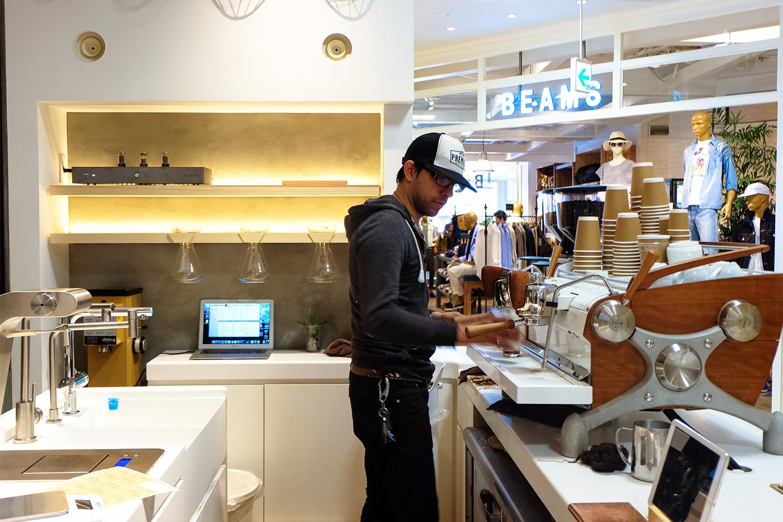 2017年4月の人気カフェ・コーヒースタンド 第3位 アラビカ京都 藤井大丸