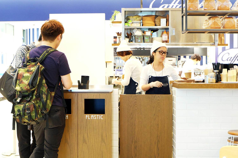食パンとコーヒーの専門店レブレッソ グランフロント大阪店