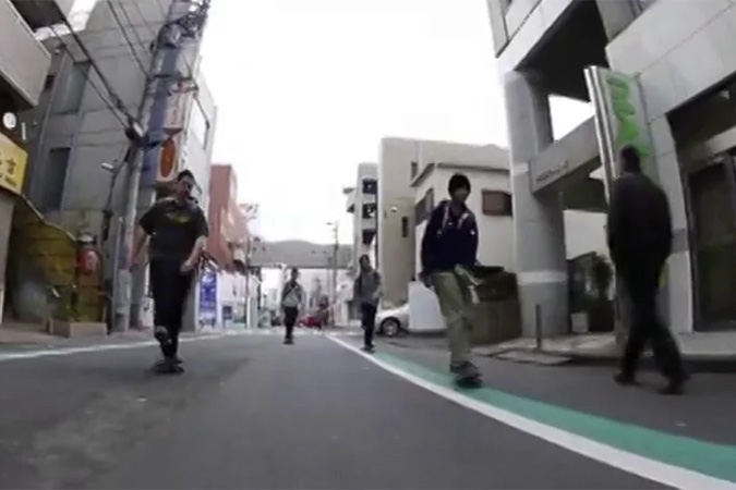 中学生スケーターによるロードムービー