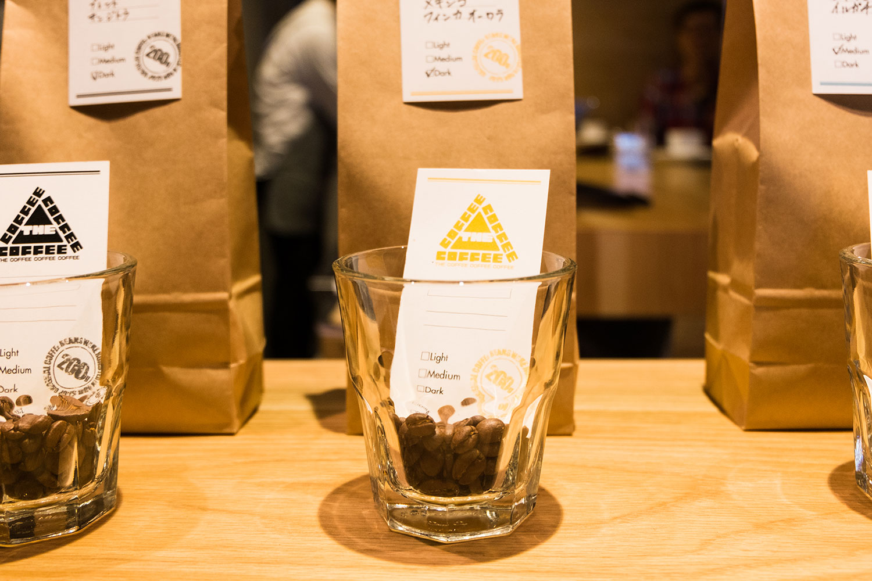 カウンターでこだわりのコーヒーを 〜 THE COFFEE COFFEE COFFEE