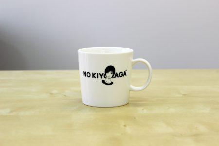 KIYONAGA&CO × KYNE × NO COFFEEの「NO KIYONAGA」マグカップ