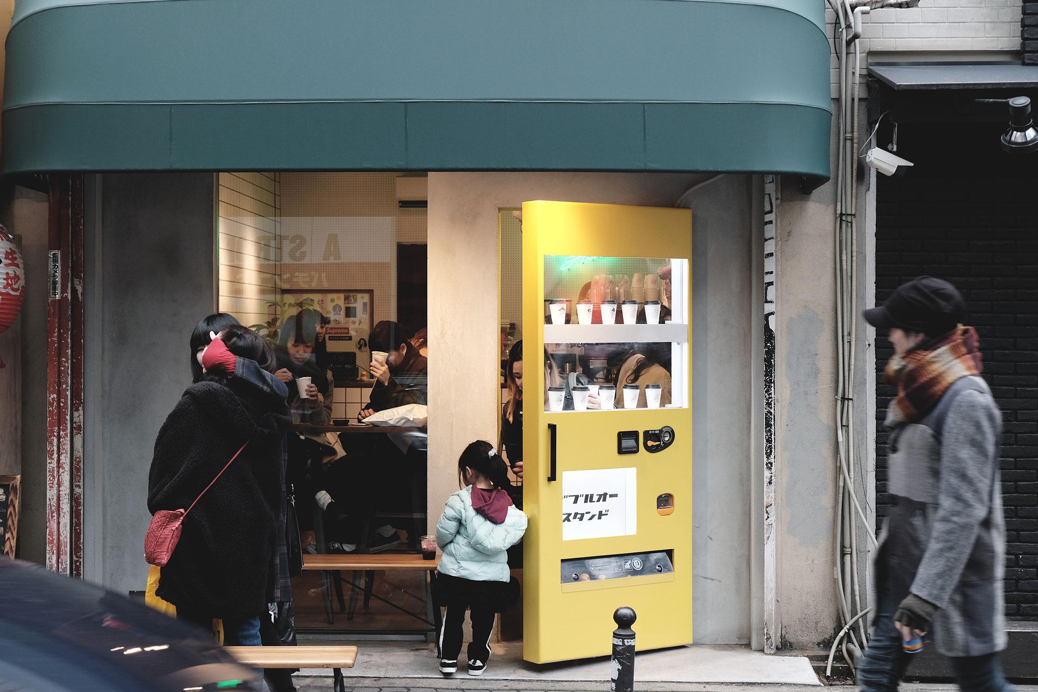 2018年1月の人気カフェ&コーヒースタンド1位 W/O STAND SHINSAIBASHI(ダブルオースタンド心斎橋)