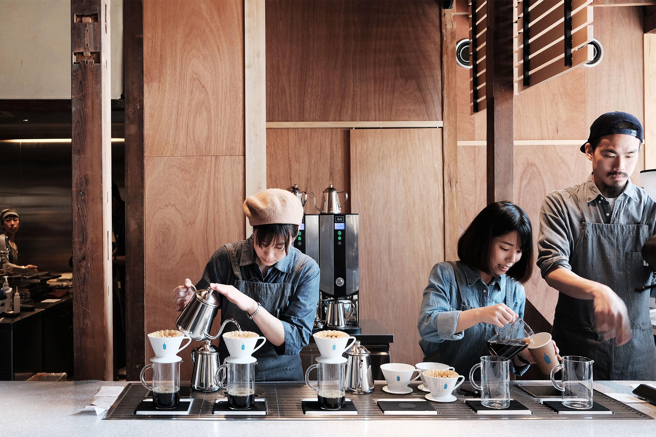 2018年3月にポストしたカフェ・コーヒースタンド一覧 ブルーボトルコーヒー 京都カフェ