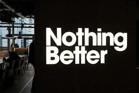 "Nothing Better ""この上ない、最高の""カフェがニューバランス原宿の4階に。"