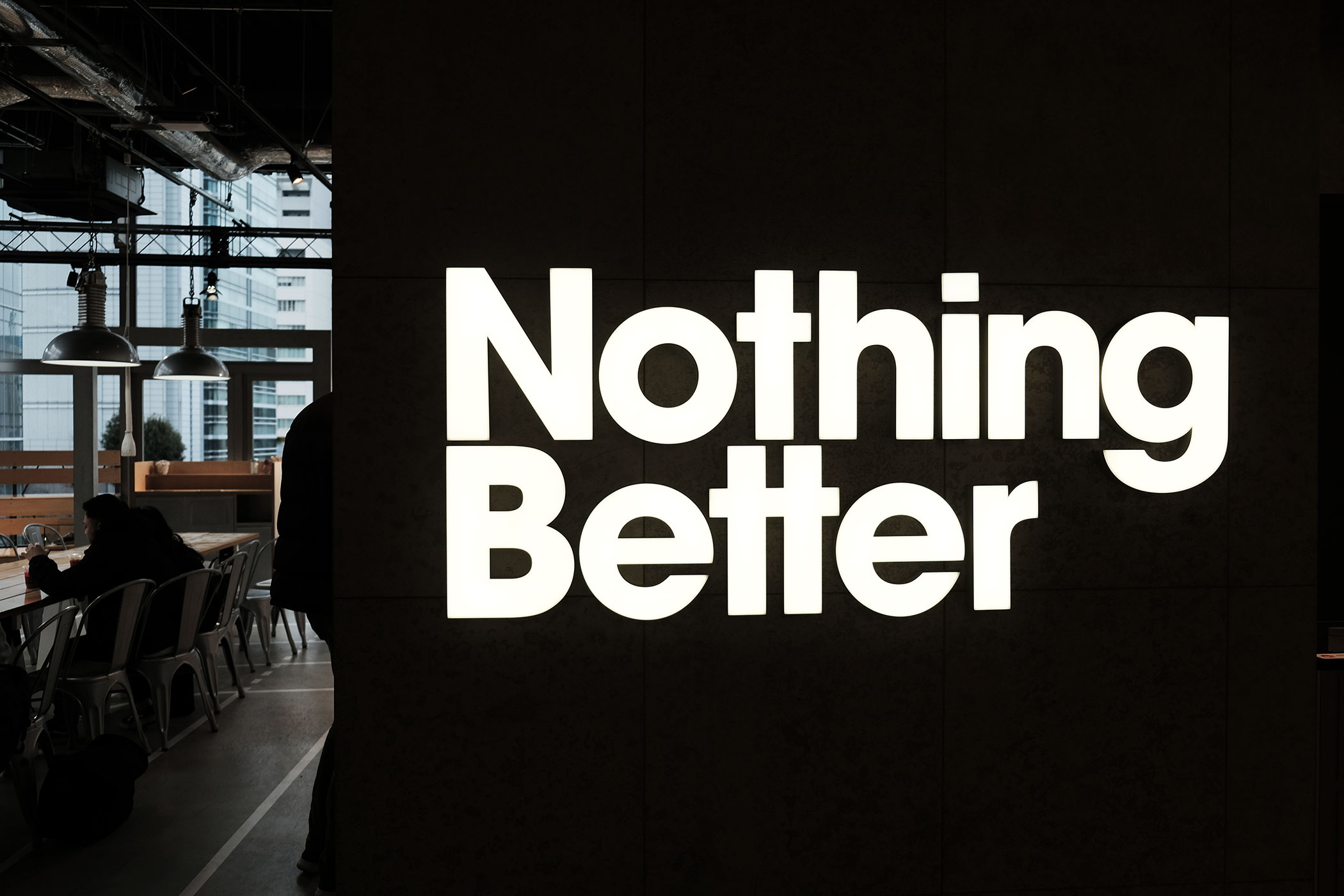 アーモンドミルクを味わえるカフェ&コーヒースタンド Nothing Better