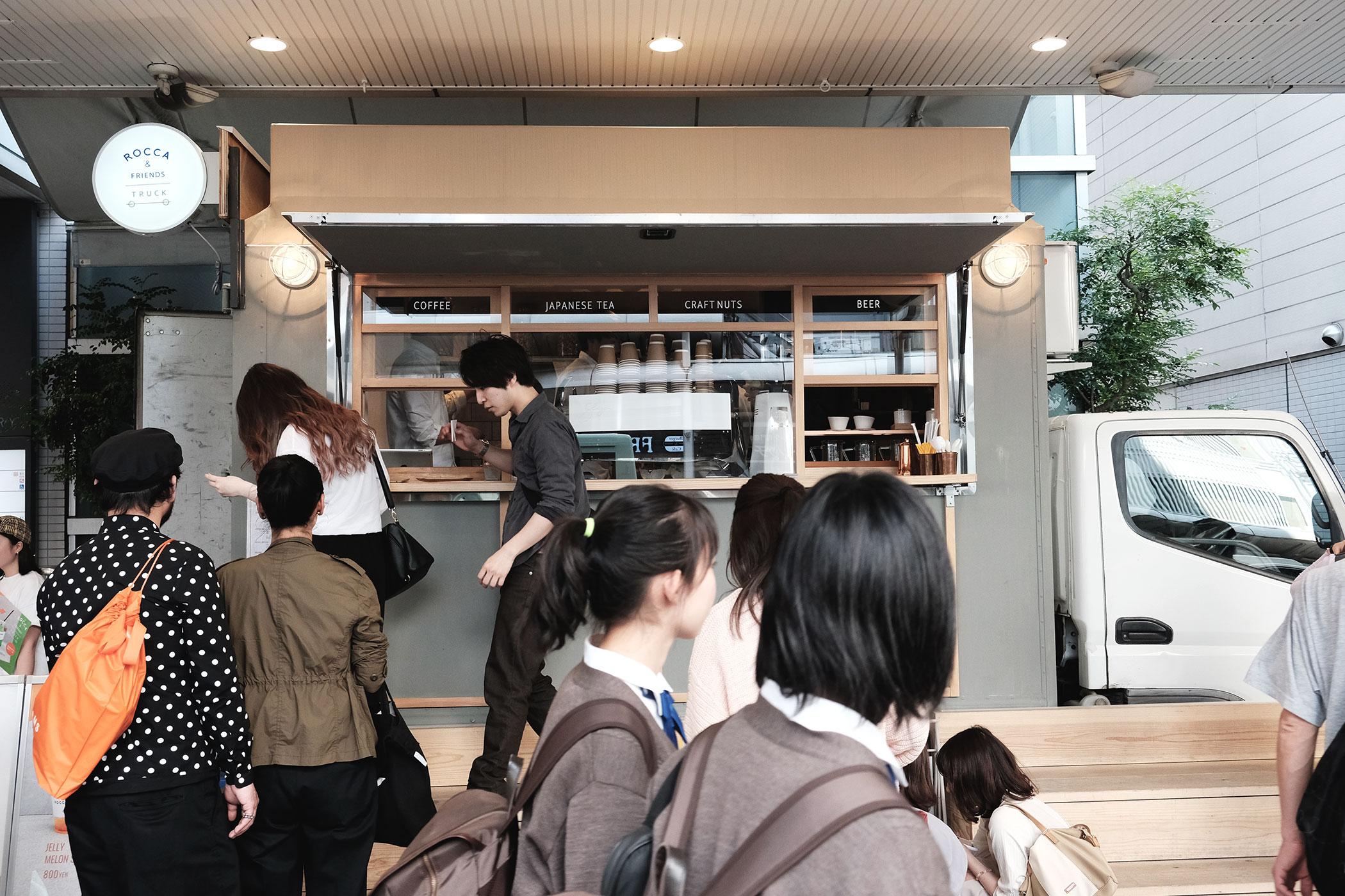 ROCCA&FRIENDS TRUCK 京都の景色をイメージしたドリンクはついつい撮りたくなる