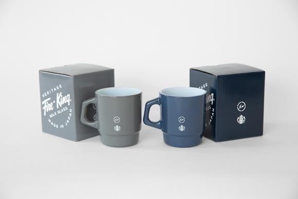 スタバ×フラグメントデザイン×ファイヤーキングのグラスマグカップ発売