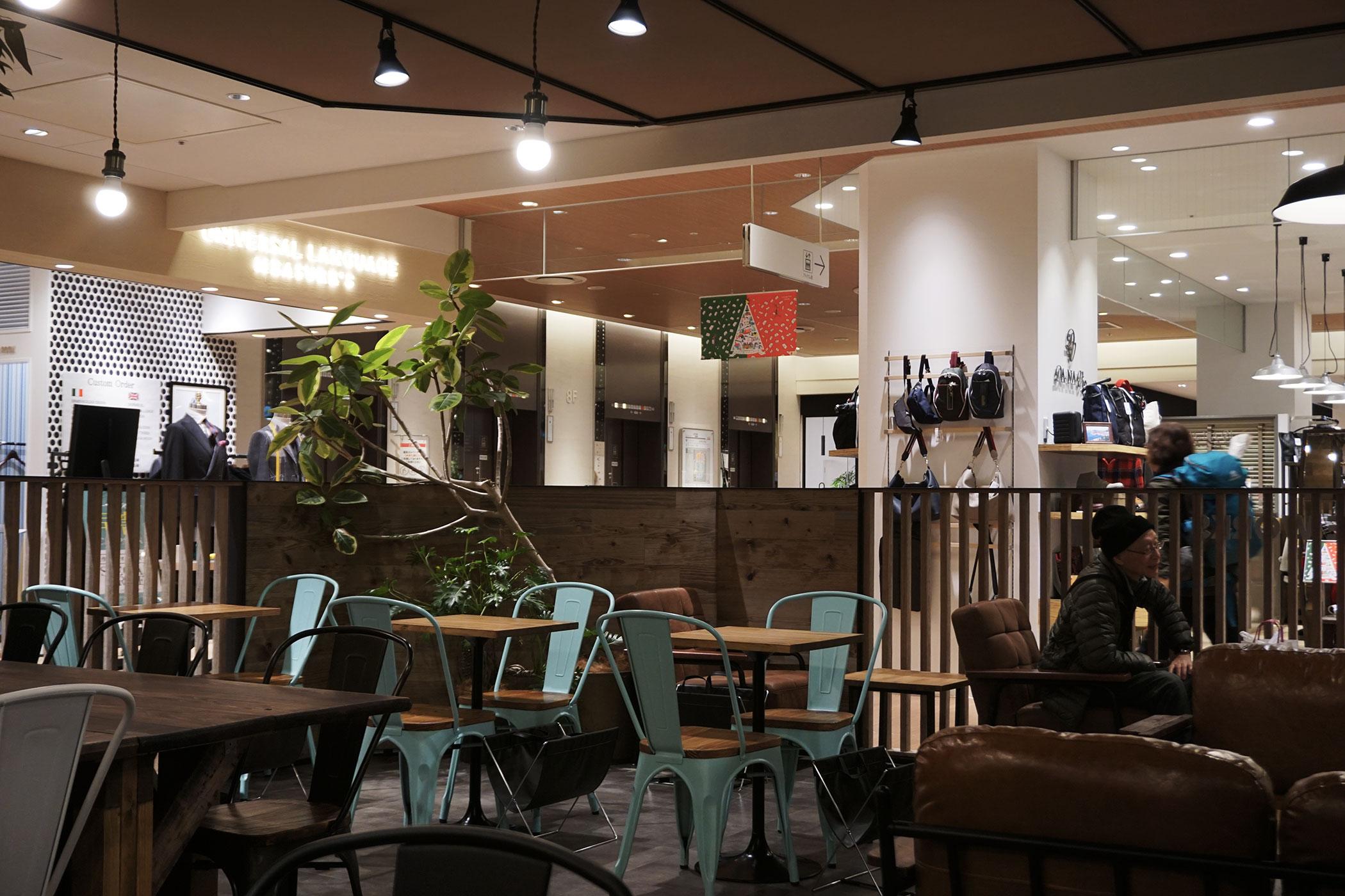 SANWA COFFEE WORKS LUCUA1100 大阪の老舗喫茶がLUCUA1100に新店をオープン