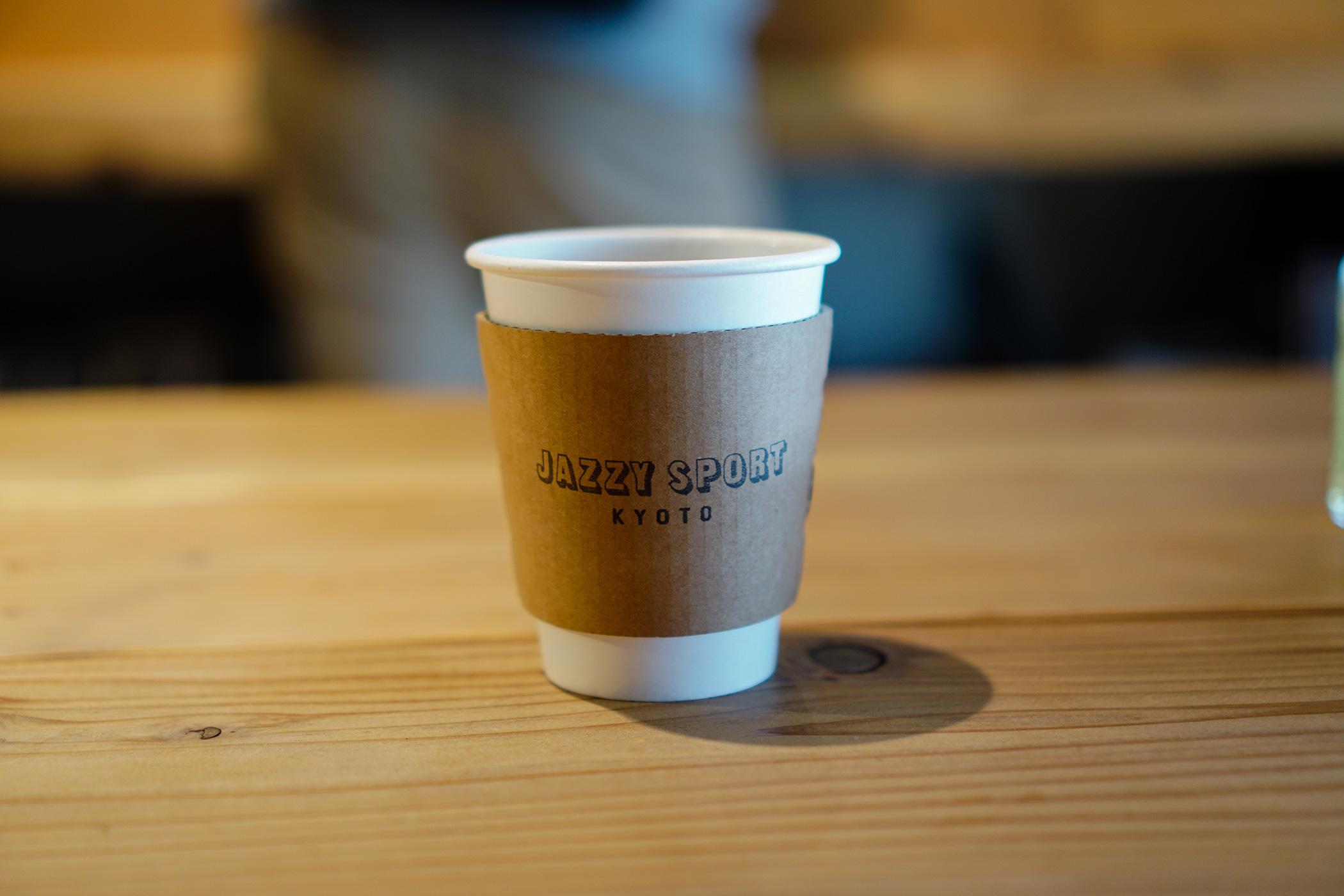 JAZZY SPORT KYOTOのカップ