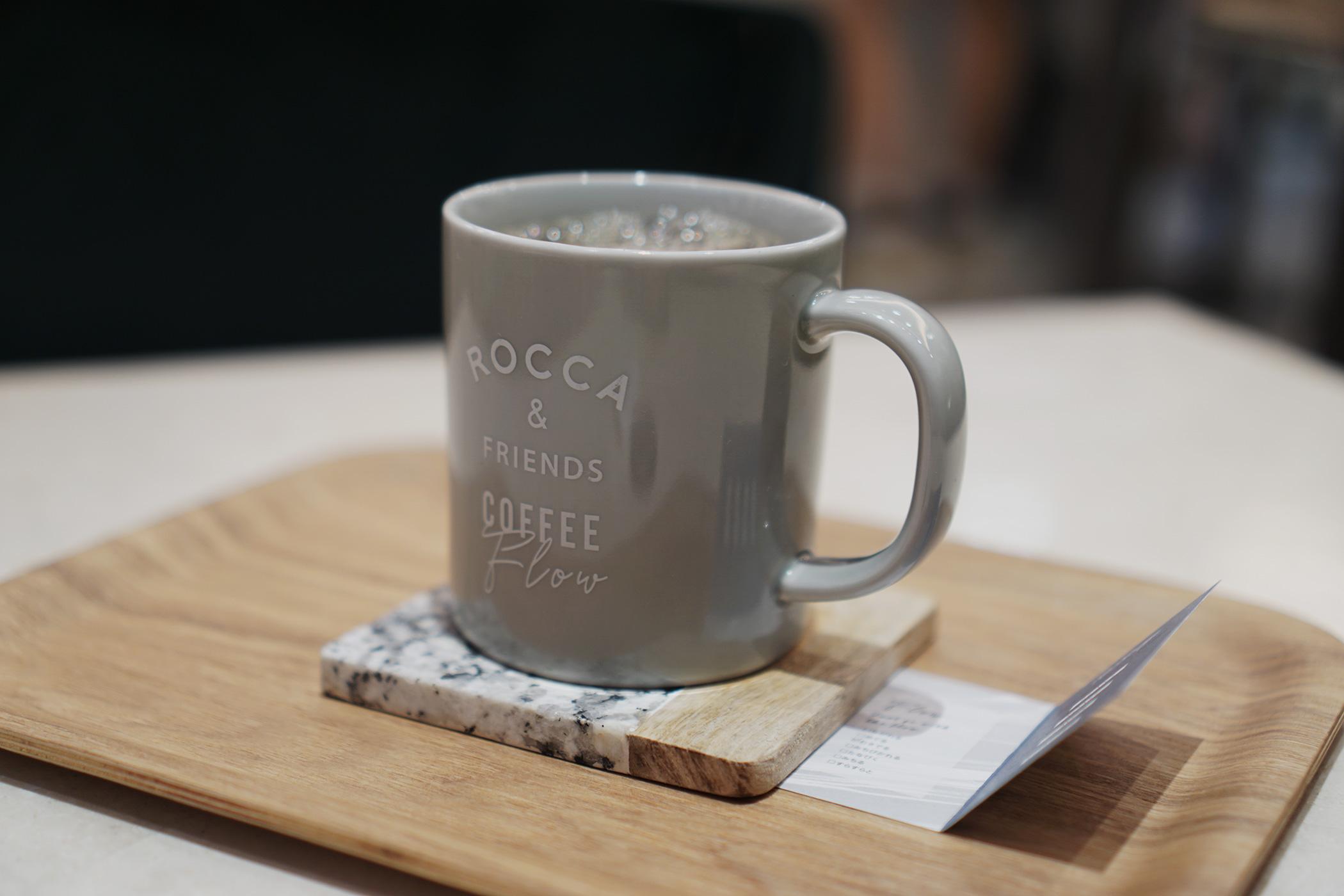 ROCCA & FRIENDS COFFEE Flowにてリチャージをオーダー