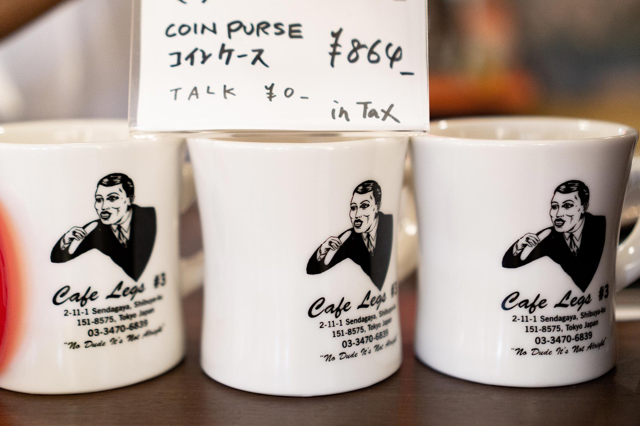 わずか2席に魅力の詰まりまくったコーヒースタンド cafe legsのオリジナルマグカップ